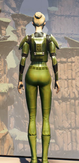 MA-35 Forward Ops Chestplate Armor Set player-view from Star Wars: The Old Republic.