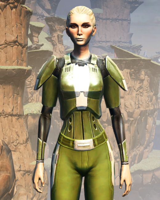 MA-35 Forward Ops Chestplate Armor Set Preview from Star Wars: The Old Republic.