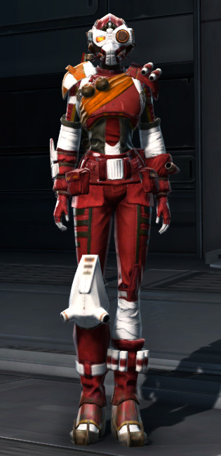 Madilon Asylum Armor Set Outfit from Star Wars: The Old Republic.