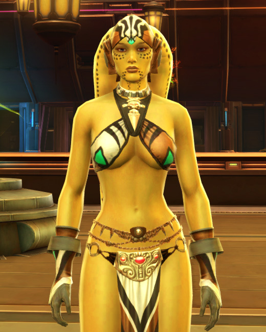 Magnificent Dancer Armor Set Preview from Star Wars: The Old Republic.