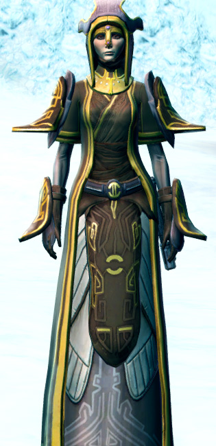 Majestic Augur Armor Set Outfit from Star Wars: The Old Republic.