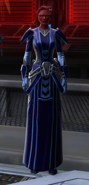 Malevolent Interrogator Armor Set Outfit from Star Wars: The Old Republic.