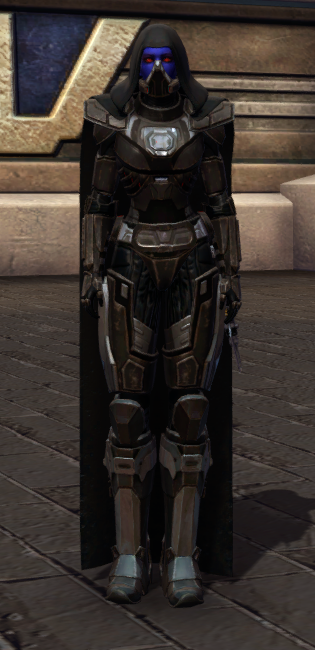 Malgus Reborn Armor Set Outfit from Star Wars: The Old Republic.