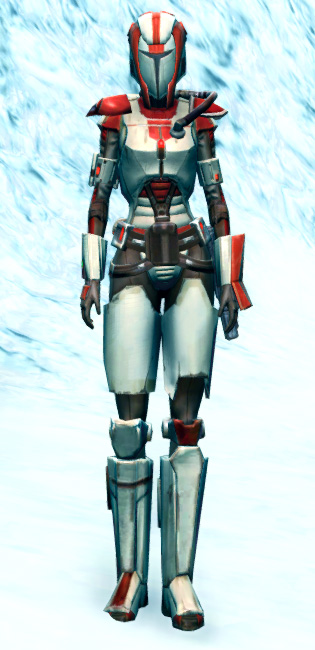 Mandalorian Enforcer Armor Set Outfit from Star Wars: The Old Republic.