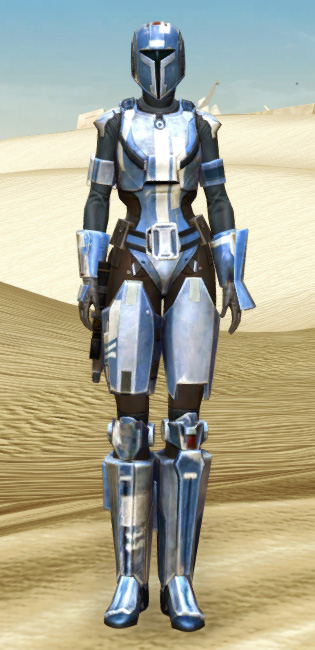 Mandalorian Hunter Armor Set Outfit from Star Wars: The Old Republic.