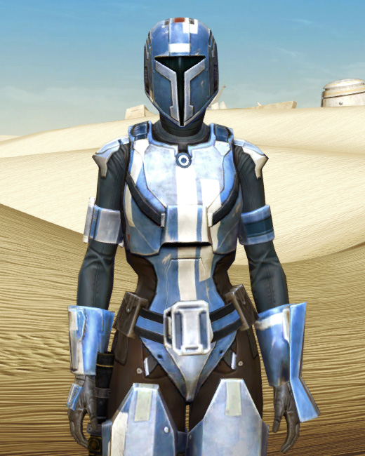 Mandalorian Hunter Armor Set Preview from Star Wars: The Old Republic.