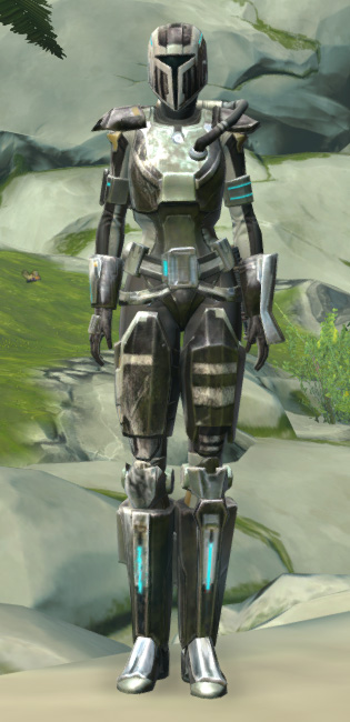 Mandalorian Seeker Armor Set Outfit from Star Wars: The Old Republic.