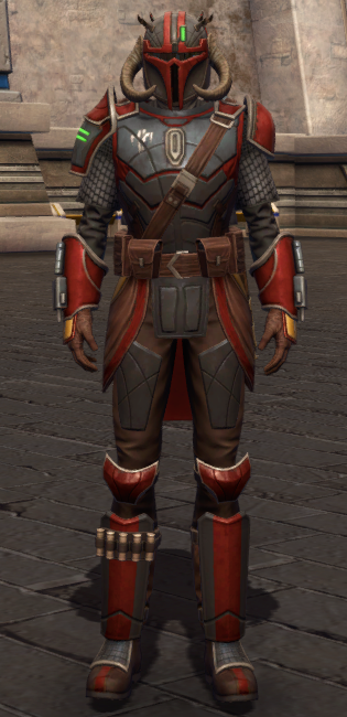 Mandalorian Stormbringer Armor Set Outfit from Star Wars: The Old Republic.