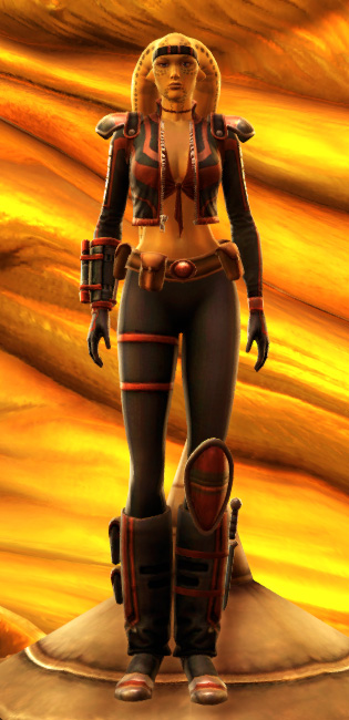 Mantellian Privateer Armor Set Outfit from Star Wars: The Old Republic.