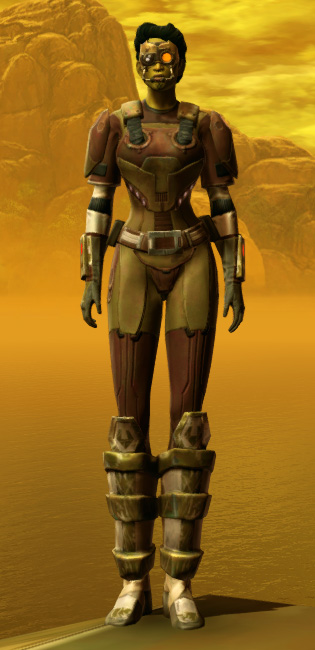 Mercenary Armor Set Outfit from Star Wars: The Old Republic.