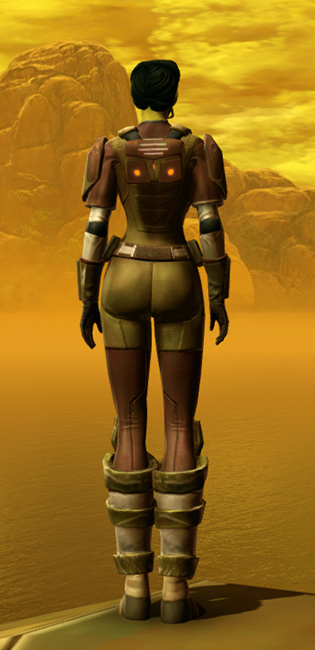 Mercenary Armor Set player-view from Star Wars: The Old Republic.