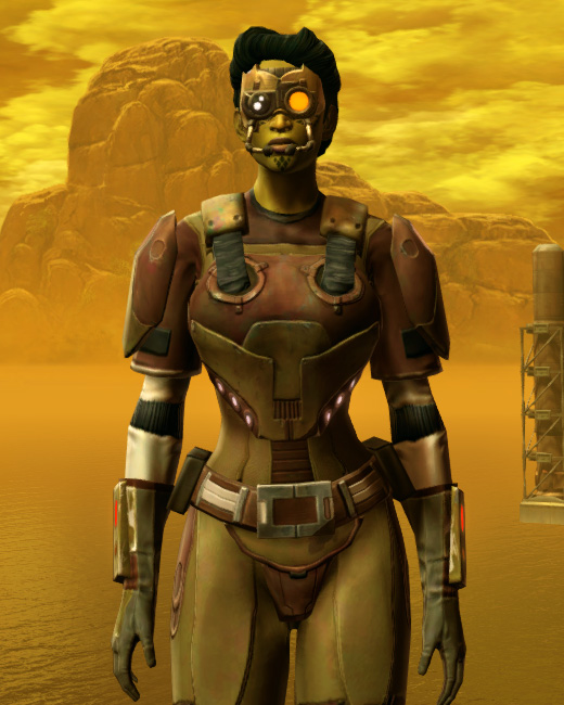 Mercenary Armor Set Preview from Star Wars: The Old Republic.