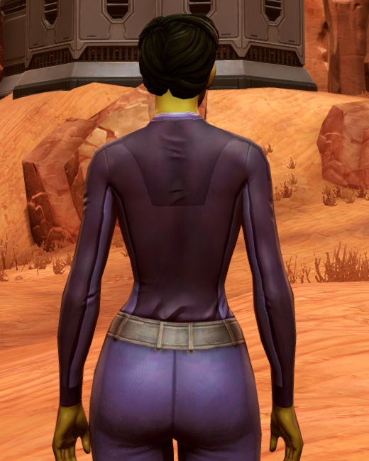 Mining Vest (Imperial) Armor Set Back from Star Wars: The Old Republic.