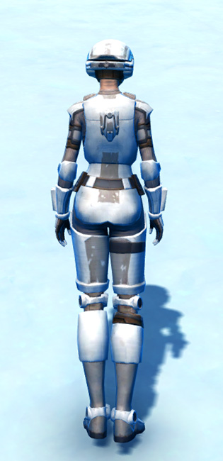 Mullinine Asylum Armor Set player-view from Star Wars: The Old Republic.