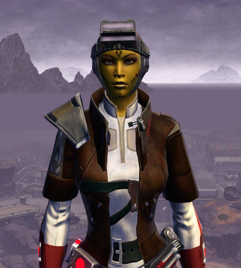 Mullinine Onslaught Armor Set from Star Wars: The Old Republic.
