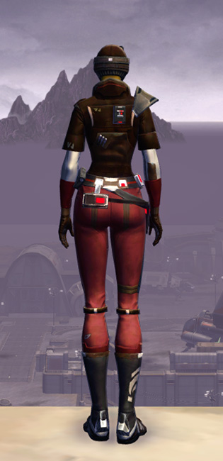 Mullinine Onslaught Armor Set player-view from Star Wars: The Old Republic.