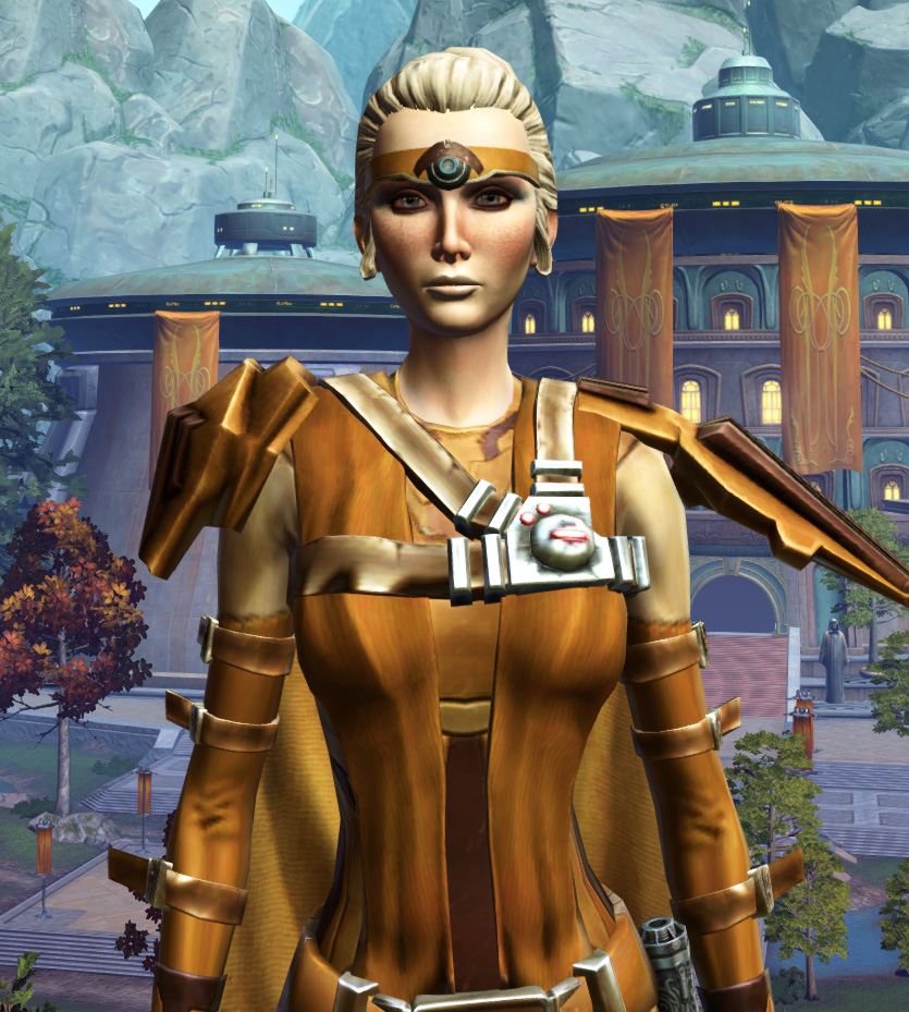 Nanosilk Aegis Armor Set from Star Wars: The Old Republic.