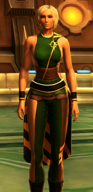 Nightlife Socialite dyed in SWTOR.