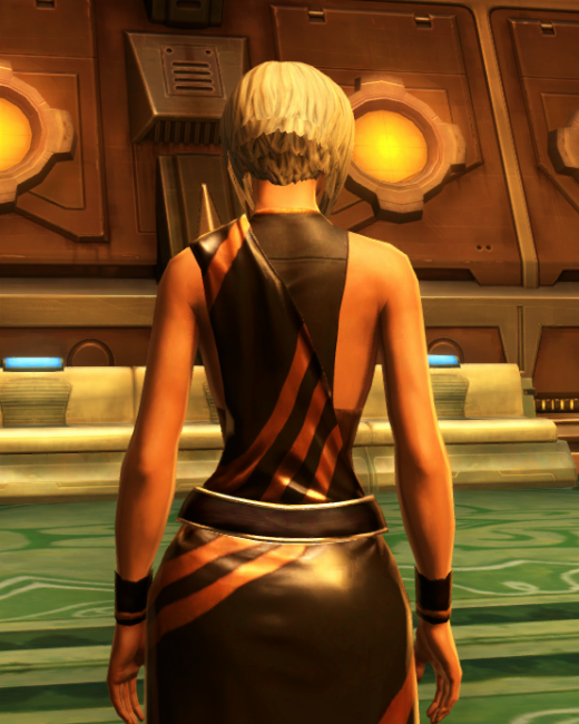 Nightlife Socialite Armor Set Back from Star Wars: The Old Republic.