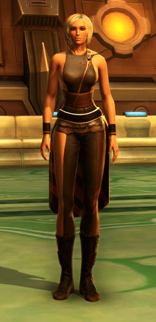Nightlife Socialite Armor Set Outfit from Star Wars: The Old Republic.