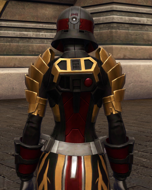 Nimble Master Armor Set Back from Star Wars: The Old Republic.
