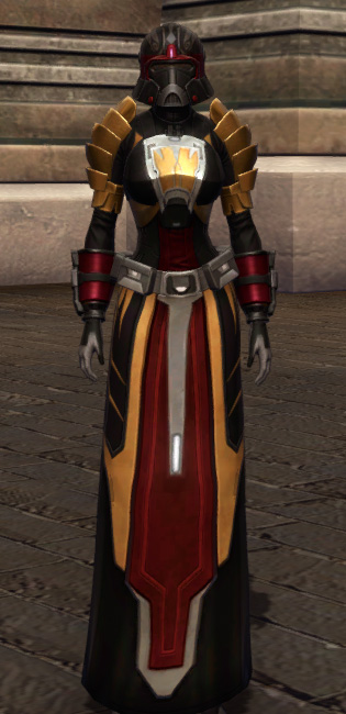 Nimble Master Armor Set Outfit from Star Wars: The Old Republic.
