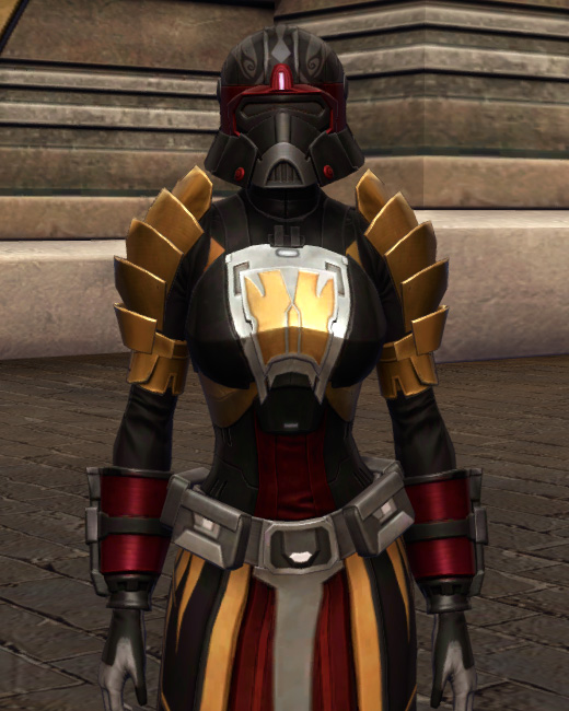 Nimble Master Armor Set Preview from Star Wars: The Old Republic.
