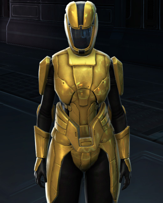 Opulent Triumvirate Armor Set Preview from Star Wars: The Old Republic.