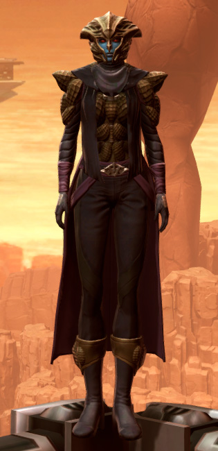 Orbalisk Armor Set Outfit from Star Wars: The Old Republic.