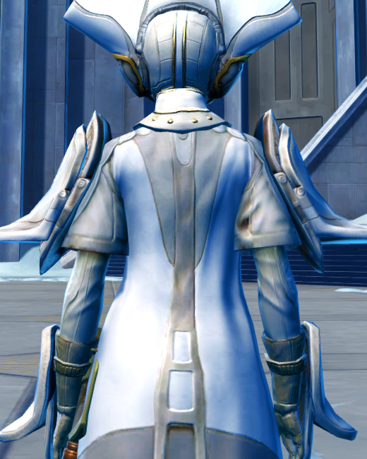 Ottegan Force Expert Armor Set Back from Star Wars: The Old Republic.