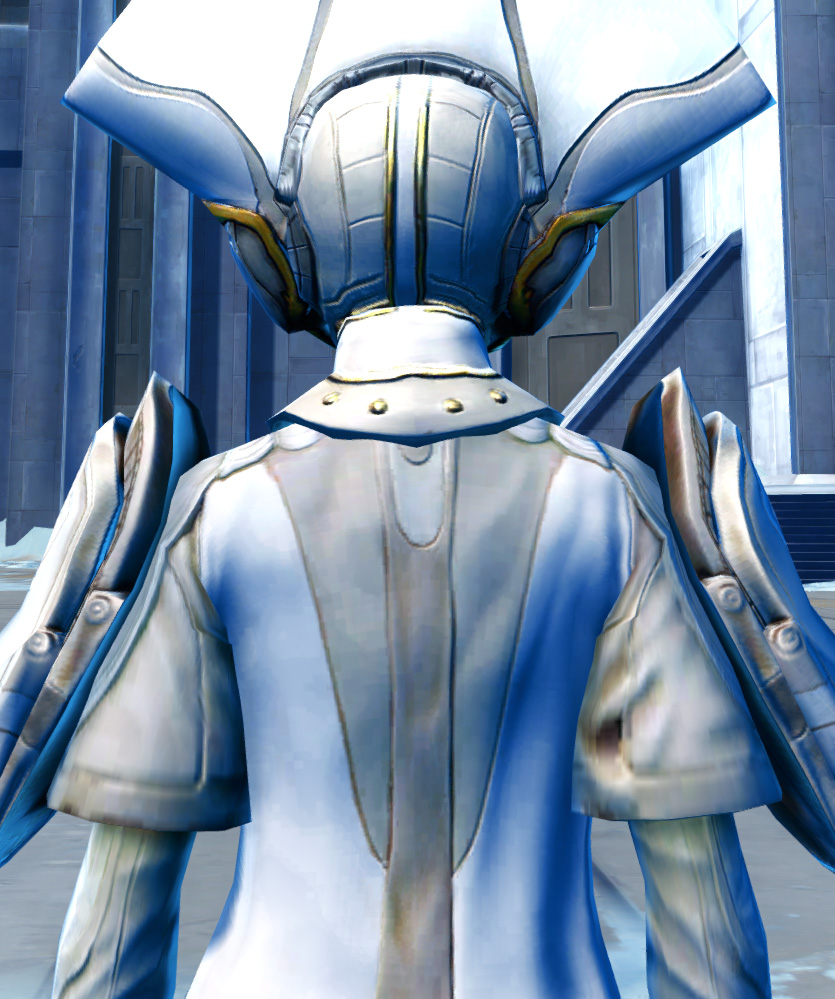 Ottegan Force Expert Armor Set detailed back view from Star Wars: The Old Republic.