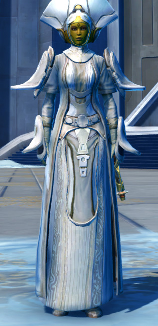 Ottegan Force Expert Armor Set Outfit from Star Wars: The Old Republic.