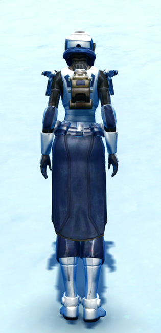 Outcast Armor Set player-view from Star Wars: The Old Republic.