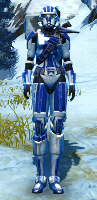 Ciridium Asylum Armor Set Outfit from Star Wars: The Old Republic.