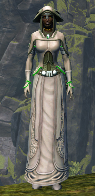 Overloaded Peacemaker Armor Set Outfit from Star Wars: The Old Republic.