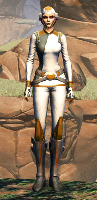 Overwatch Security Armor Set Outfit from Star Wars: The Old Republic.