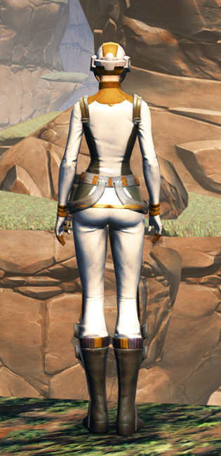 Overwatch Security Armor Set player-view from Star Wars: The Old Republic.