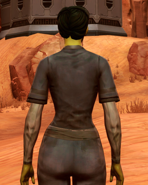 Padded Armor Set Back from Star Wars: The Old Republic.
