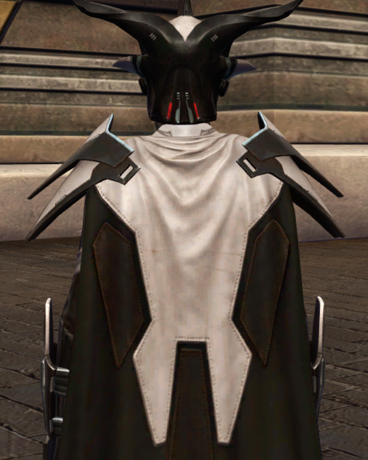 Perfect Form Armor Set Back from Star Wars: The Old Republic.