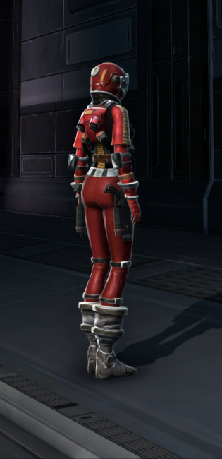 Pilot Armor Set player-view from Star Wars: The Old Republic.
