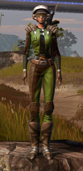 Pit Screamer Armor Set Outfit from Star Wars: The Old Republic.