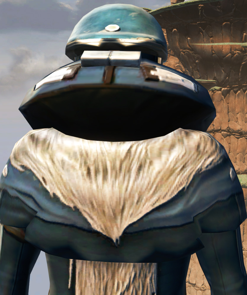 Polyplast Battle Armor Set detailed back view from Star Wars: The Old Republic.