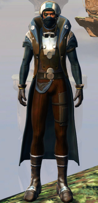 Polyplast Battle Armor Set Outfit from Star Wars: The Old Republic.