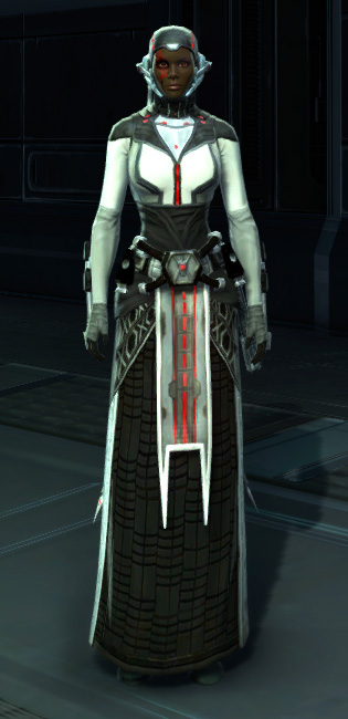 Potent Combatant Armor Set Outfit from Star Wars: The Old Republic.
