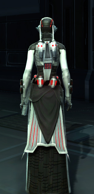 Potent Combatant Armor Set player-view from Star Wars: The Old Republic.