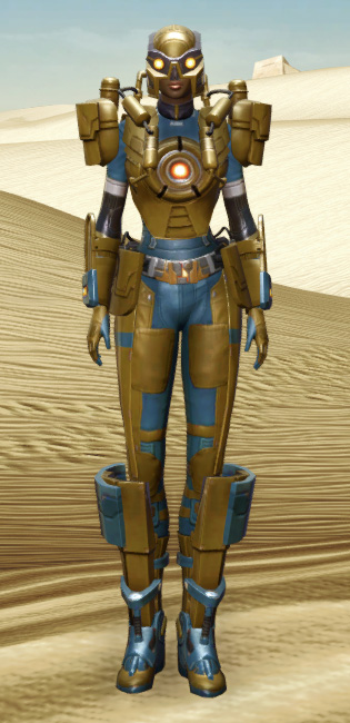 Powered Exoguard Armor Set Outfit from Star Wars: The Old Republic.