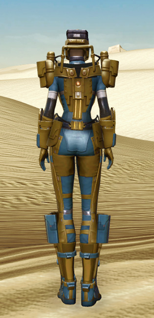 Powered Exoguard Armor Set player-view from Star Wars: The Old Republic.