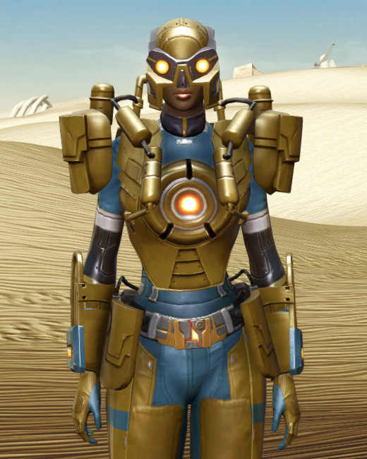 Powered Exoguard Armor Set Preview from Star Wars: The Old Republic.