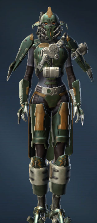 War Hero Combat Medic Armor Set Outfit from Star Wars: The Old Republic.