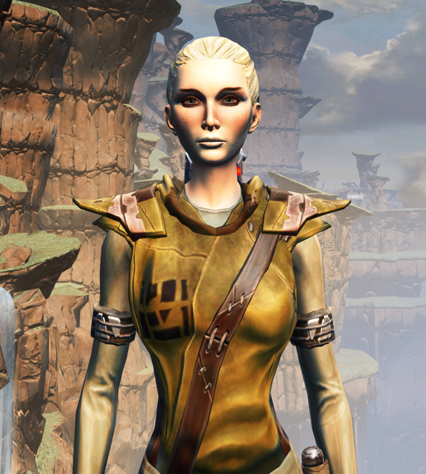 Prisoner Armor Set from Star Wars: The Old Republic.